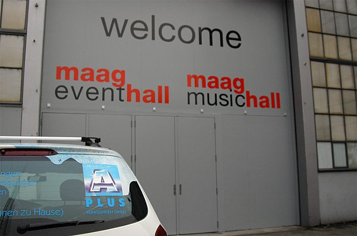 Eventreinigung bei Maag Event Hall