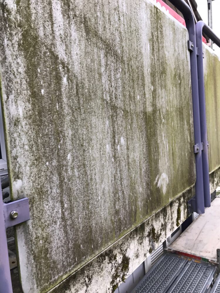 Balkon Reinigen a plus reinigungen eternitfassaden reinigen